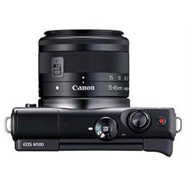 Canon EOS M100 Body With EF-M 15-45mm f/3.5-6.3 IS STM Lens - Black Thumbnail Image 13